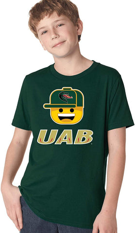 J2 Sport University of Alabama at Birmingham Blazers NCAA Ball Cap Youth T-Shirt