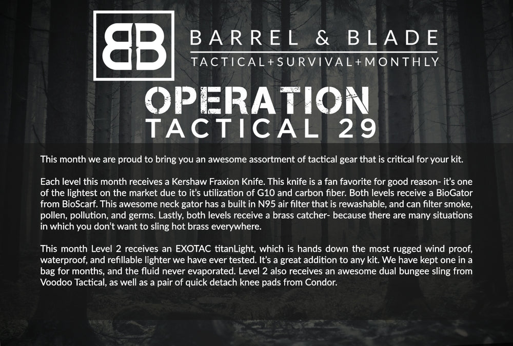 Operation Tactical 29 - LEVEL 2
