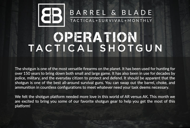 Operation Tactical Shotgun - LEVEL 2
