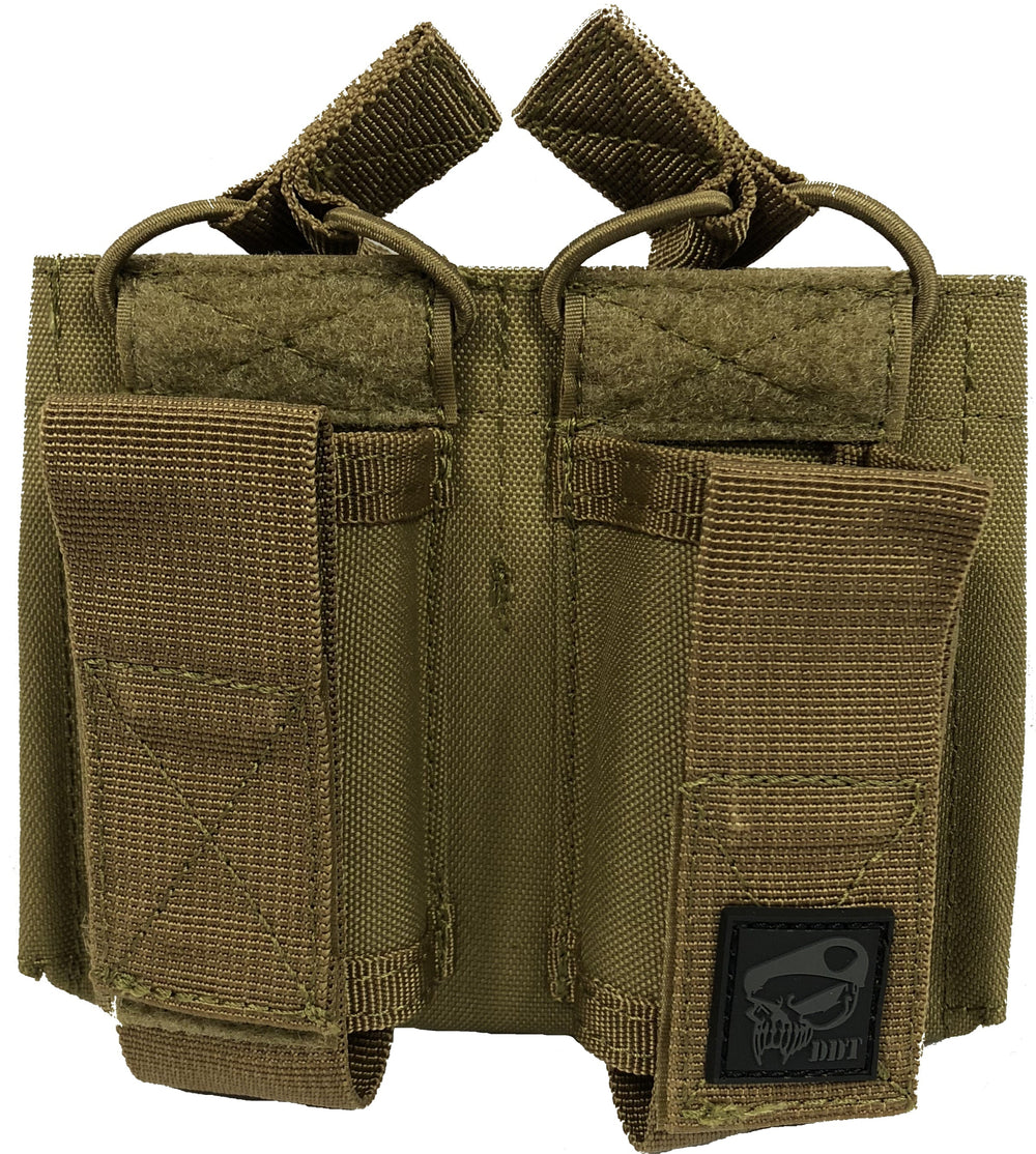 M4 and Pistol Double Kangaroo Magazine Pouch