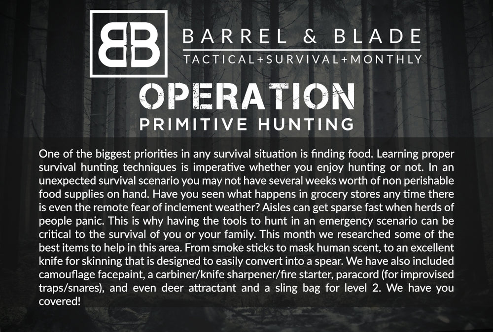 Operation Primitive Hunting - LEVEL 2