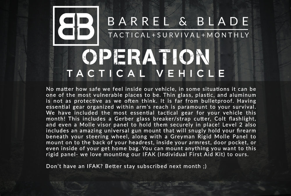 Operation Tactical Vehicle - LEVEL 2