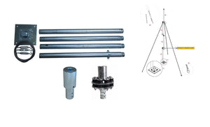 Mast tower & accessories for wind generators from IstaBreeze®