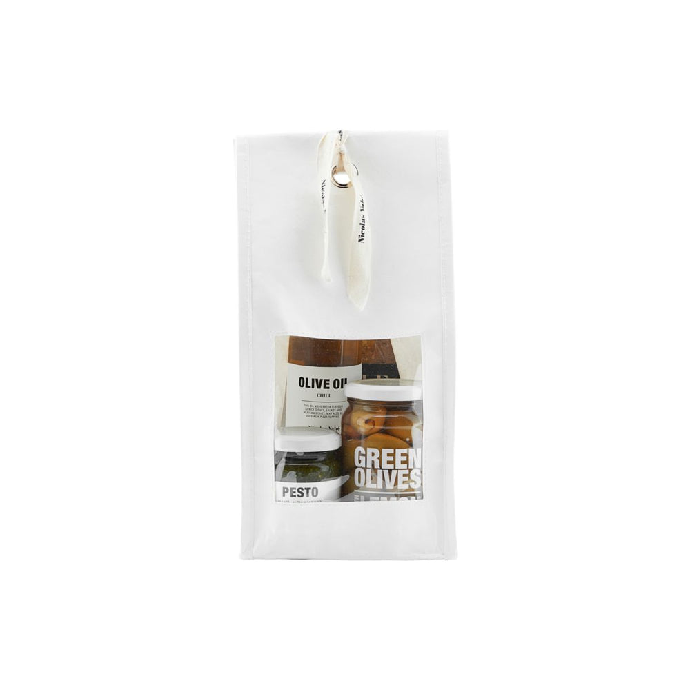 Tapas Gift Set with Olives, Pesto, Chilli Oil & Crunchy Crackers