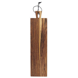 Oiled Acacia Wood Oblong Tapas Board