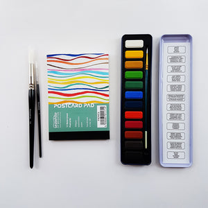 Easy Watercolour Painting Set