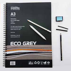Sketching Grey Paper Set