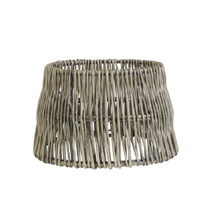 Load image into Gallery viewer, 30 x 25 x 19 Cm Rotan Rattan Lampshade