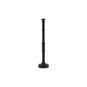 Candle stand, Jersey, Black-Brown, Medium