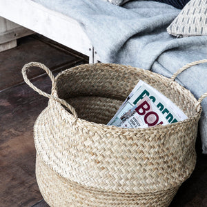Load image into Gallery viewer, Woven Seagrass Tanger Basket, 30 x 40 cm