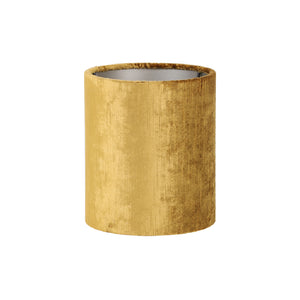Cylinder Shade,  17-17-23 cm GEMSTONE gold velvet
