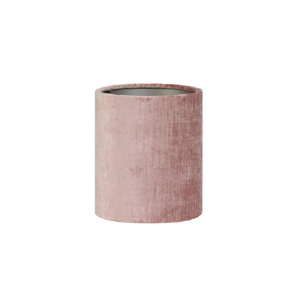 Load image into Gallery viewer, Cylinder Lamp Shade, 17-17-23 cm GEMSTONE old pink