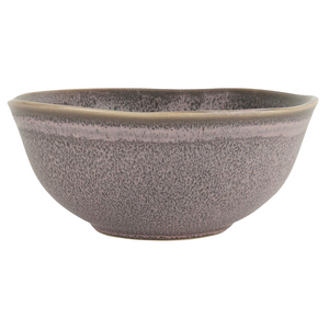 Load image into Gallery viewer, Set of 2 Lavender Hand Glazed Stoneware Muesli Bowls