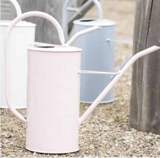 Powder Blue Metal Watering Can 2.7l