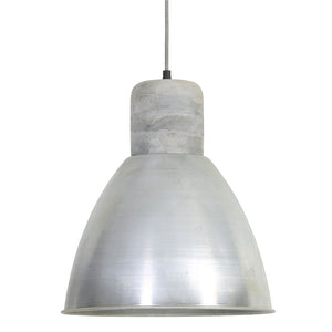 Load image into Gallery viewer, ISMAY wood weather barn+antique silver pendant