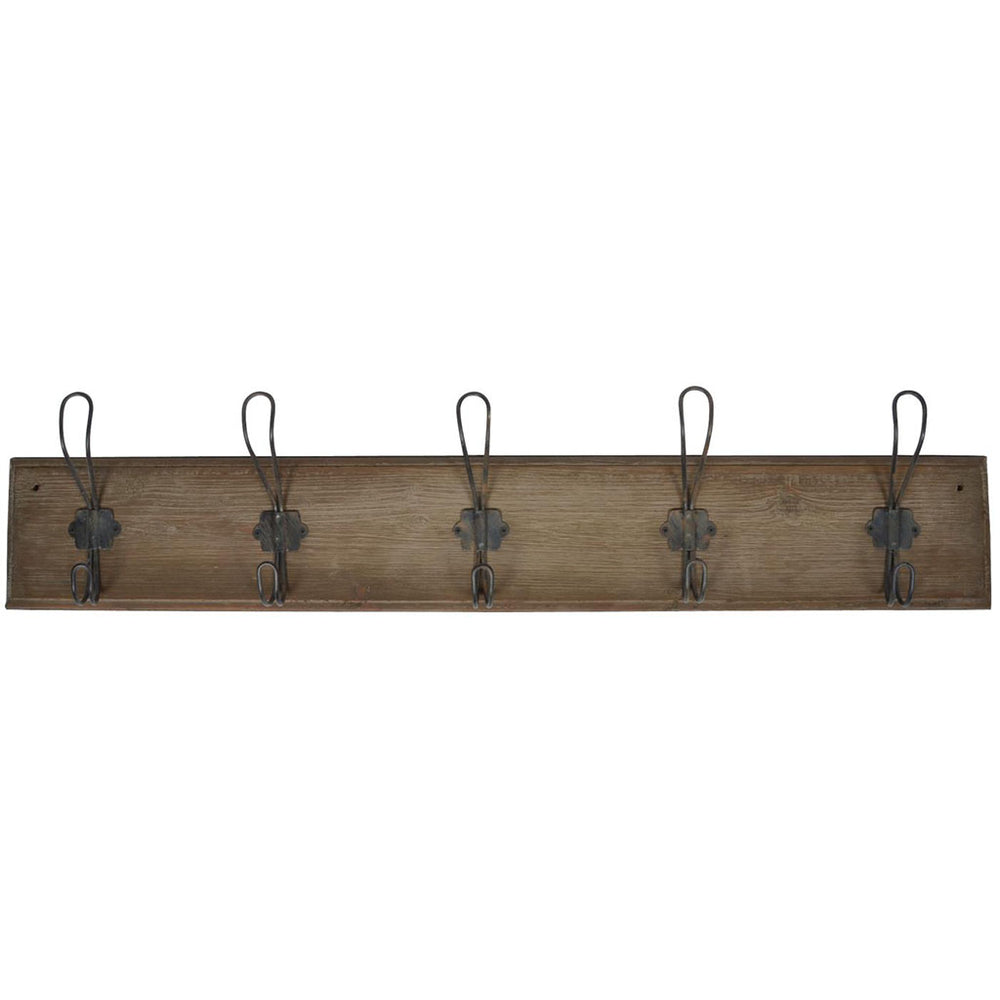 Coat Hanger With 5 Wire Hooks