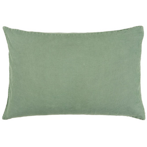 Load image into Gallery viewer, 40 x 60 cm Green Linen Cotton Cushion Cover
