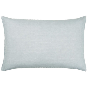 40 x 60cm Light Blue Linen Cushion Cover