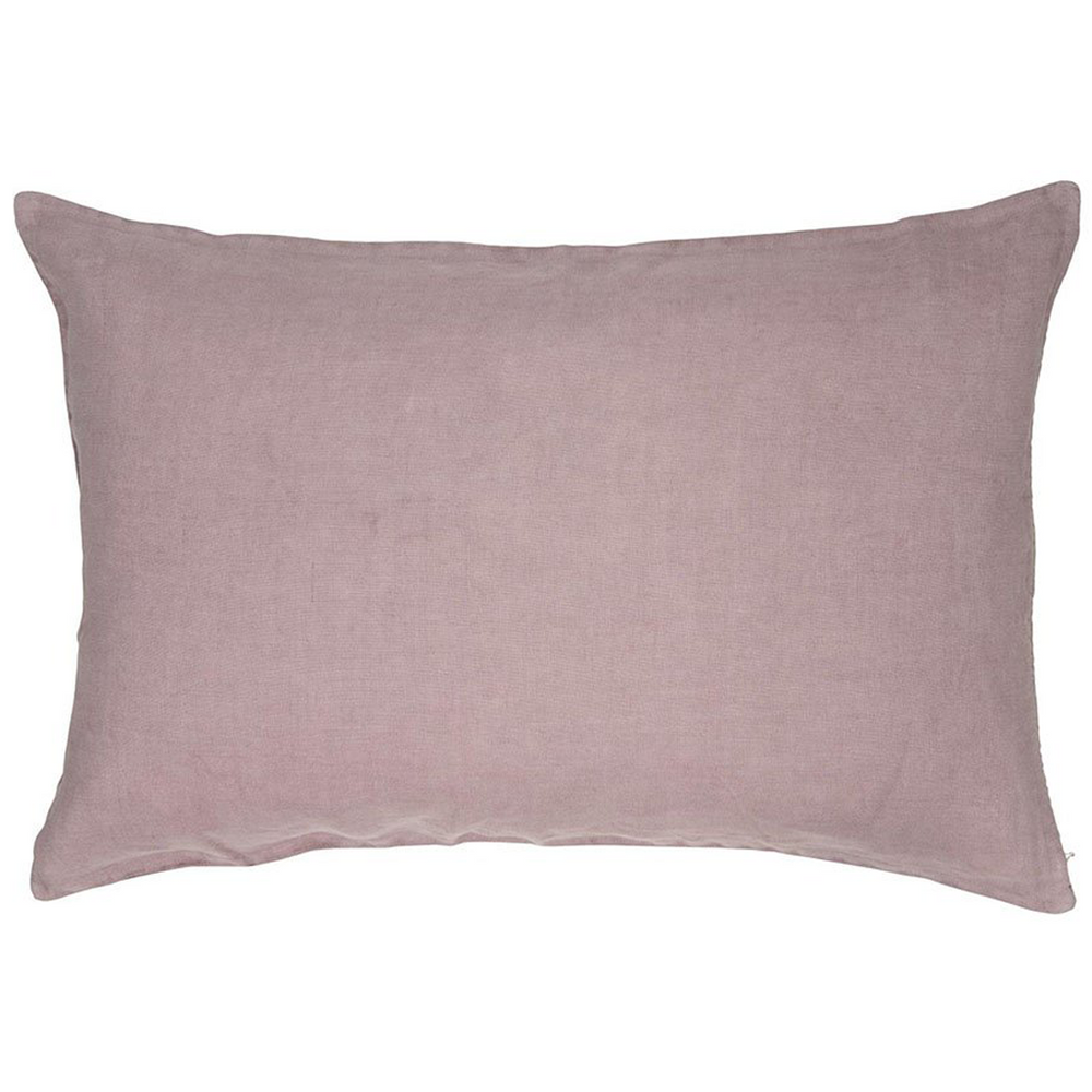 40 x 60 cm Malva Pink Linen Cushion Cover
