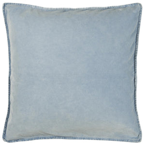 50 x 50cm Sky Blue Velvet Cushion Cover
