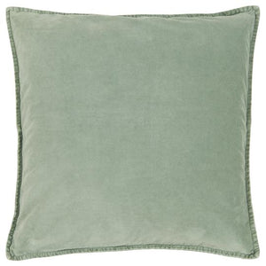 Dusty Green Velvet Cushion Cover, 50 x 50 cm