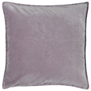 Load image into Gallery viewer, 50 x 50cm Lavender Purple Velvet Cushion Cover