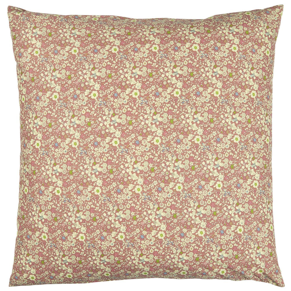 60 x 60 cm Pink Ditsy Floral Cushion Cover