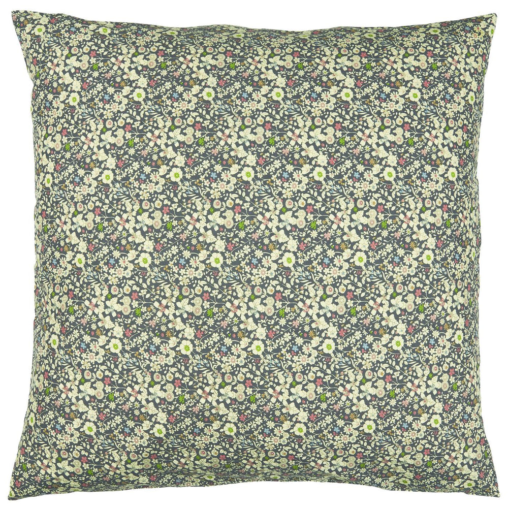 60 x 60 cm Ocean Blue Ditsy Floral Cushion Cover