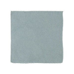 Set of 2 Nordic Sky Blue Knitted Cotton Dish Wash Cloth