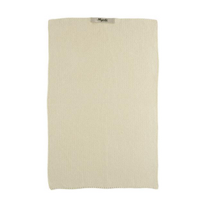 Latte Knitted Cotton Towel