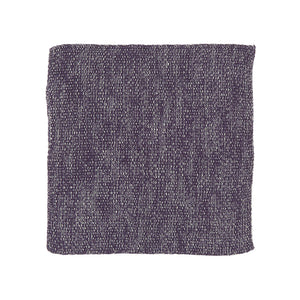Purple Melange Knitted Cotton Dish Wash Cloth