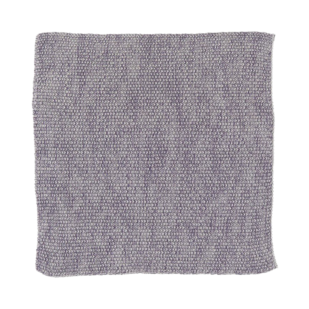 Lavender Purple Melange Knitted Cotton Wash Dish Cloth