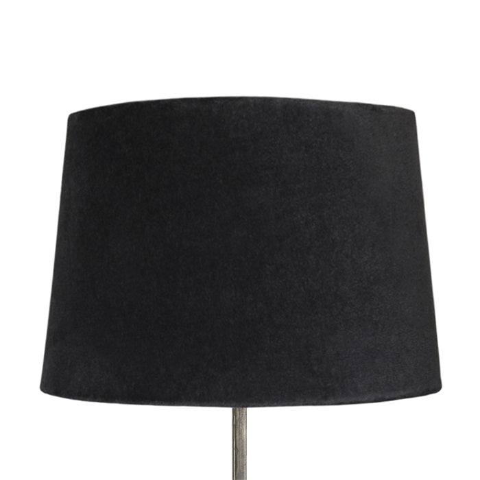 Load image into Gallery viewer, Large-Dark-Blue-Velvet-Lamp-Shade