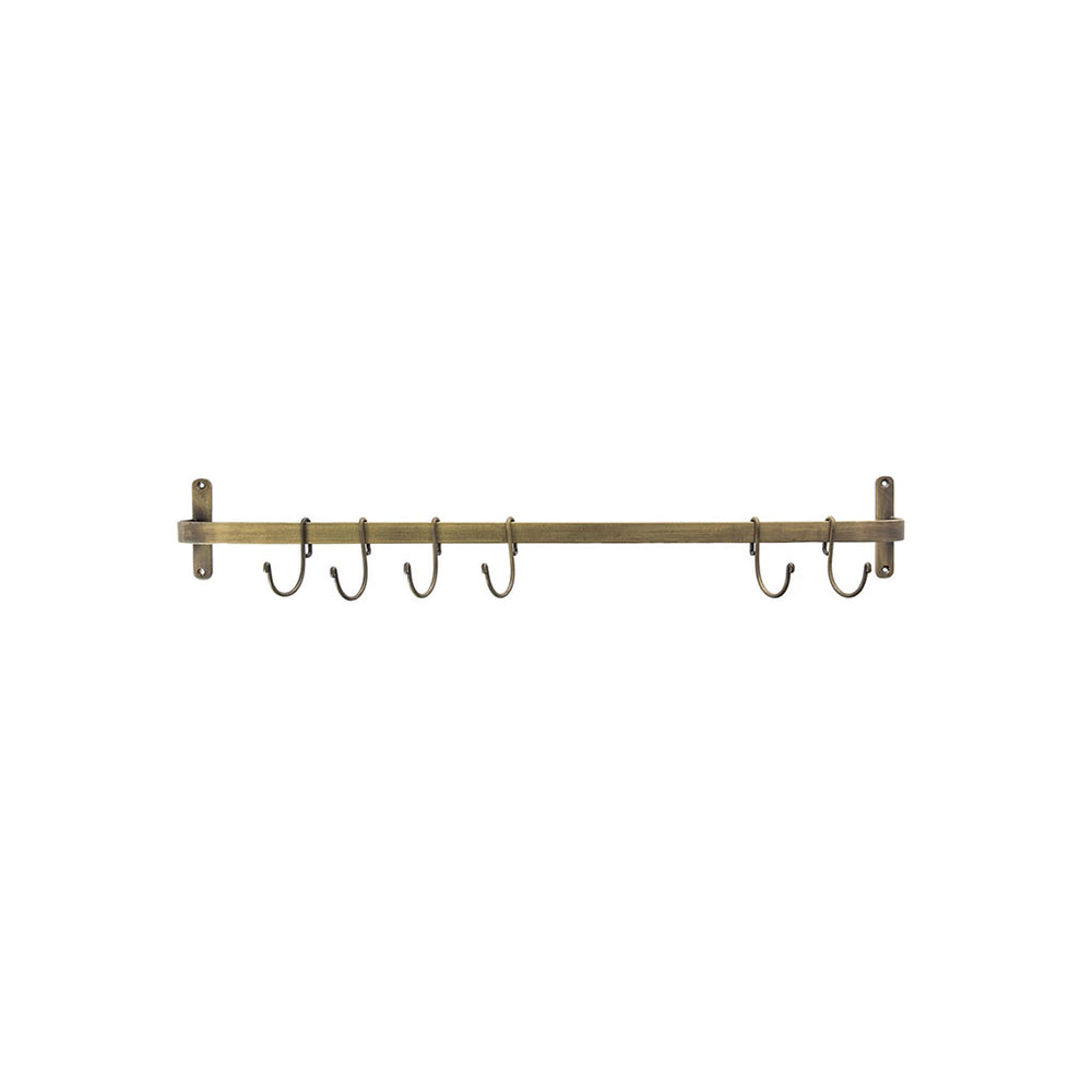Brompton Hook Rail with Antique Bronze Finish