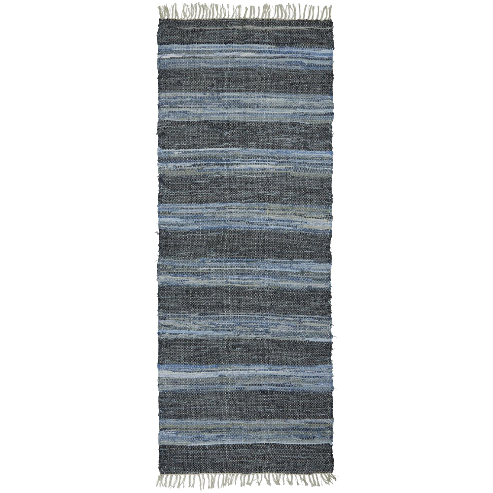 Load image into Gallery viewer, Denim Weave Runner Rug, 80 x 200 cm