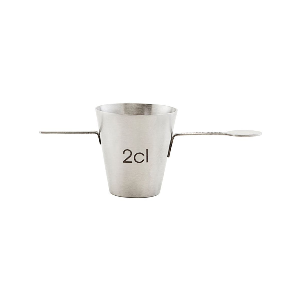 Stainless Steel Spirit Measuring cup, 2 cl