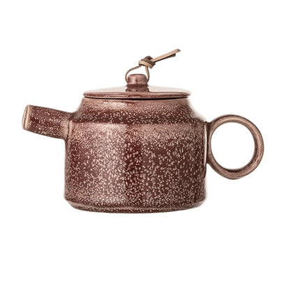 Load image into Gallery viewer, 'Joelle' Brick Red Ceramic Stoneware Teapot