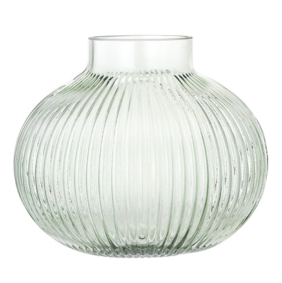 Load image into Gallery viewer, Green Glass Vase