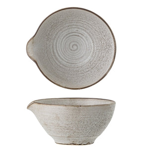 Load image into Gallery viewer, 'Thea' Grey Stoneware Bowl