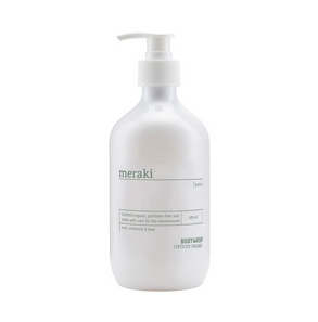 unscented body wash, organic, 490ml . Meraki.