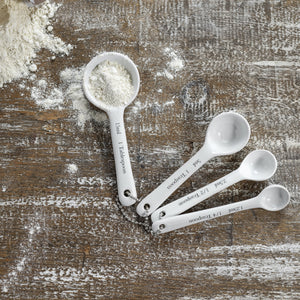 Load image into Gallery viewer, Porcelaine Measuring Spoon Set