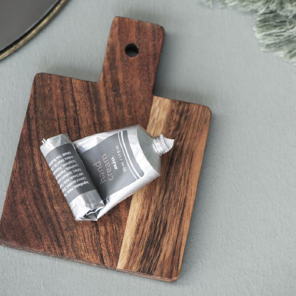 Set of 4 Mini Oiled Acacia Wood Tapas Boards