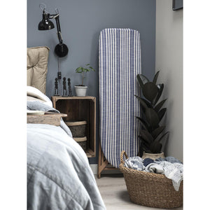 Blue And White Striped Ironing Board Cover