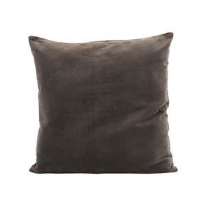 Load image into Gallery viewer, 50 x 50 cm Dark Grey Velvet Cushion Cover