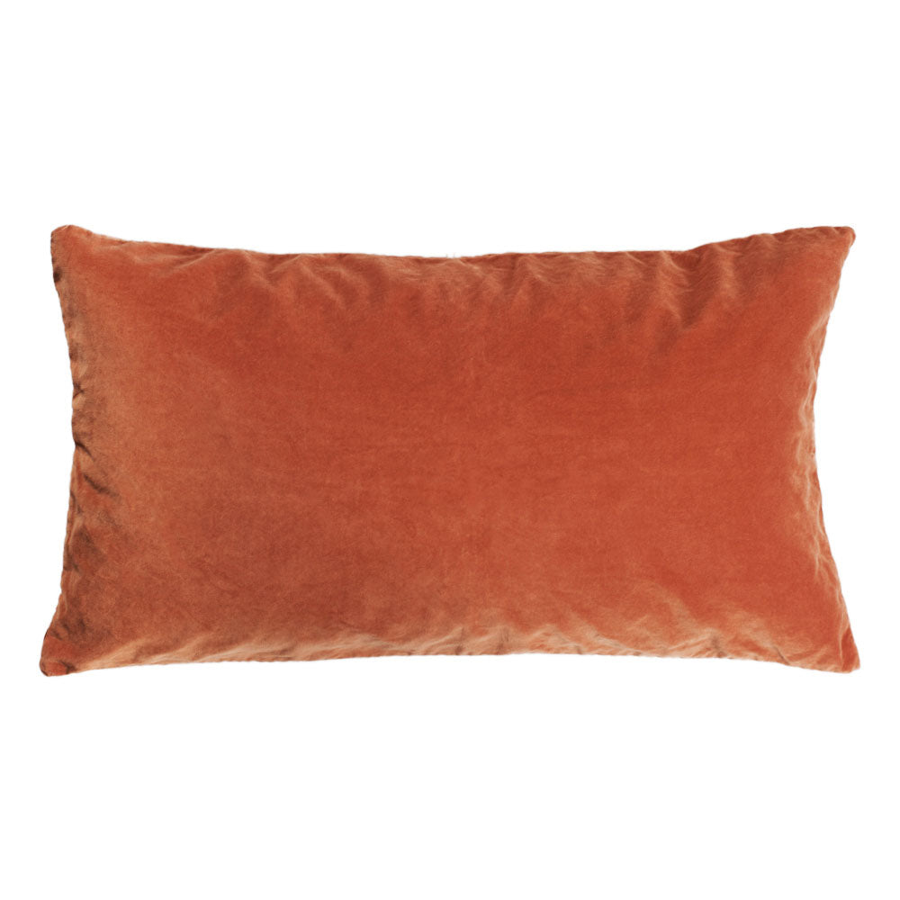 Karin Terracotta Velvet Cushion Cover 40 x 70cm