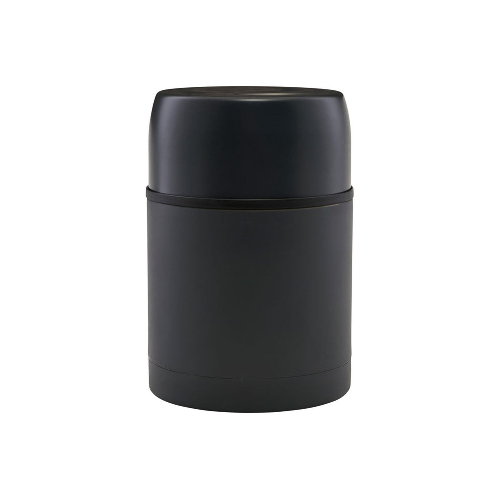 600ml Portable Stainless Steel Dark Grey Food Thermos