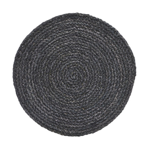Set of 4 Blue Grey Circle Placemats