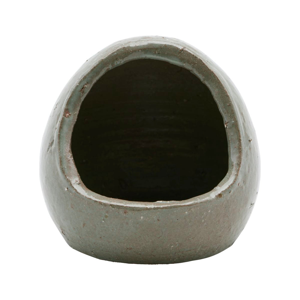 Salt jar, Organic, Grey/Green