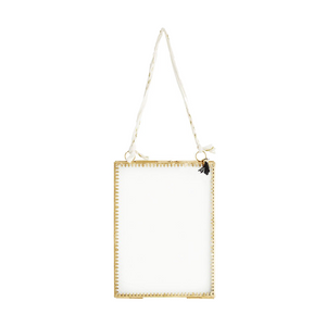 Decorative Brass Hanging Portrait Frame, 15 x 20 cm