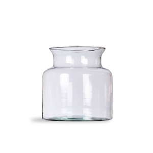 Broadwell Recycled Glass Vase, 19cm High